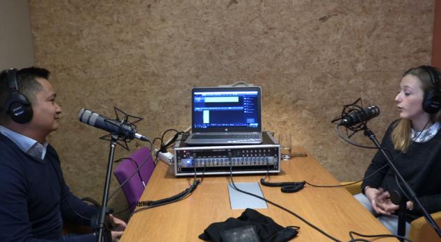 Aflevering 3 - Interview met Jamie Douw, afstudeerder bij Rever